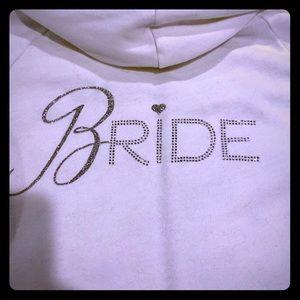 VS Bride Hoodie with satin lined hood EUC